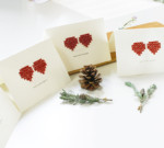 暮らし一家WS【紙刺繍でメッセージカード作り】